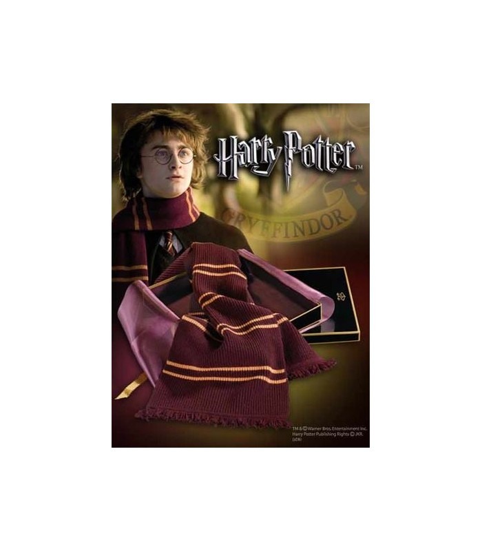 Bufanda Gryffindor de Harry Potter en Lana (Noble Collection)
