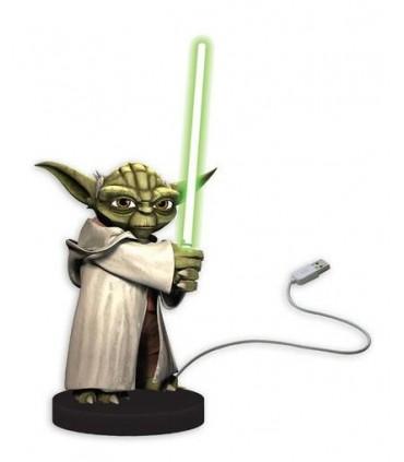 Figura Yoda USB con Sensor Movimiento Luz Sonido