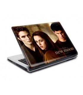 """Adhesivo para Portátil 15"""" Edward, Jacob y Bella Luna Nueva"""