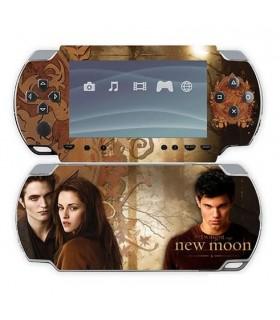 Adhesivo Decorativo PSP Edward, Jacob y Bella Luna Nueva