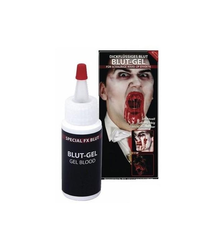 Sangre Artificial en Gel Viscoso para Maquillaje y Disfraz