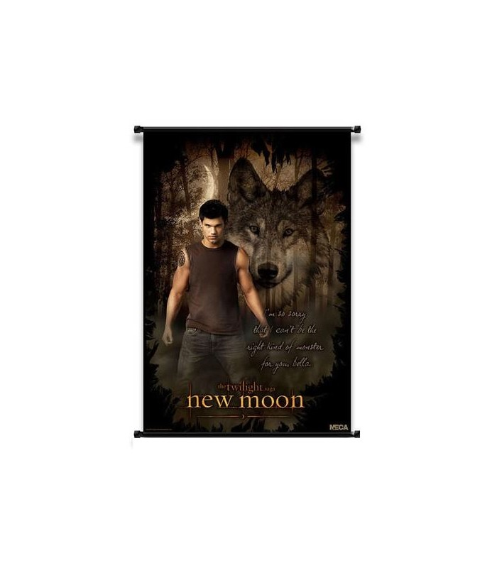 Poster Enrollable Jacob Black Luna Nueva Crepusculo New Moon