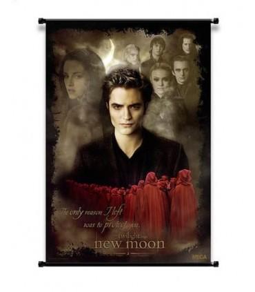 Poster Enrollable Edward y Volturis Luna Nueva Crepusculo