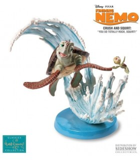 Figura Crush & Squirt Porcelana Buscando a Nemo Disney Pixar