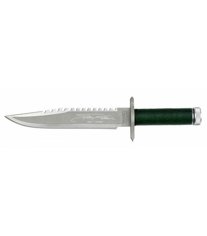 Cuchillo Machete Rambo Parte I Acorralado Edición Stallone