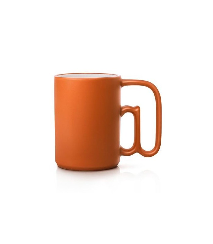 taza atmark mug email color naranja art lebedev studio en. Black Bedroom Furniture Sets. Home Design Ideas