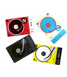 Plastinkuzz Tarjeta DJ Scratch Pad Art.Lebedev Studio
