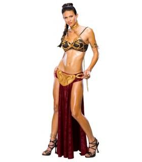 Disfraz Princesa Leia Esclava Star Wars El Retorno del Jedi