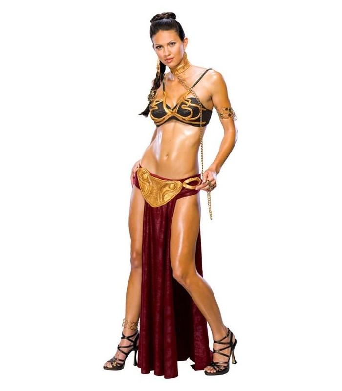 disfraz princesa leia esclava star wars el retorno del jedi en
