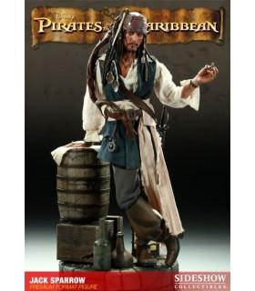 Figura Jack Sparrow Premium Format Piratas del Caribe Sideshow