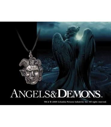 Colgante Angeles y Demonios Joya en Plata Pura