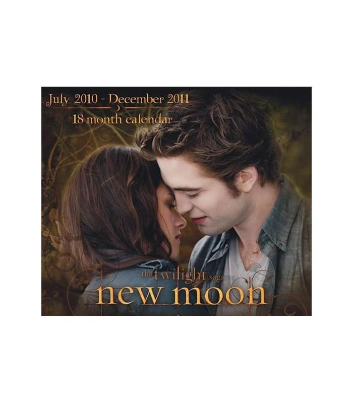 Calendario 2010 Inglés Edward y Bella Luna Nueva Crepusculo