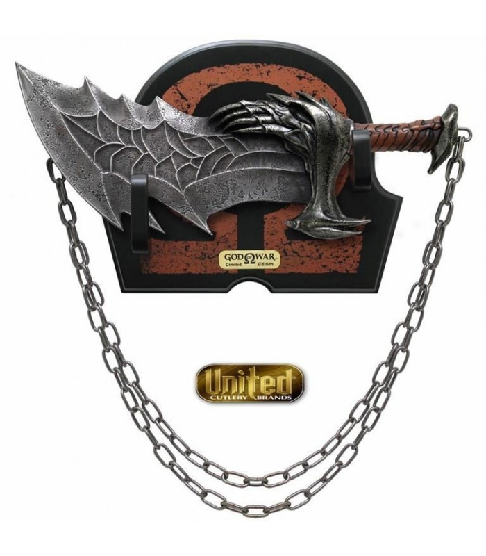 Espada del Caos Kratos God of War Réplica Edición Limitada