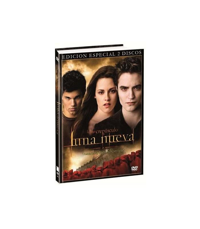 DVD Edición Especial Libro Luna Nueva Crepúsculo New Moon