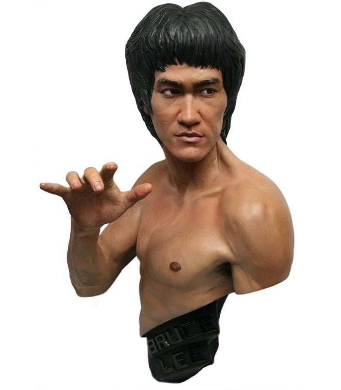 Estatua Bruce Lee Escala 1:1 Edición Limitada Negro