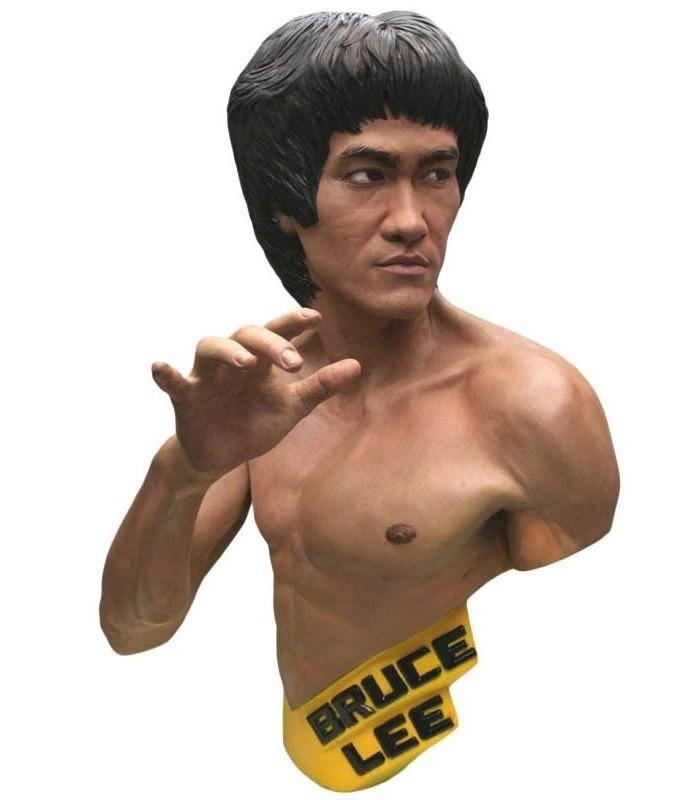 Estatua Bruce Lee Escala 1:1 Edición Limitada Amarillo