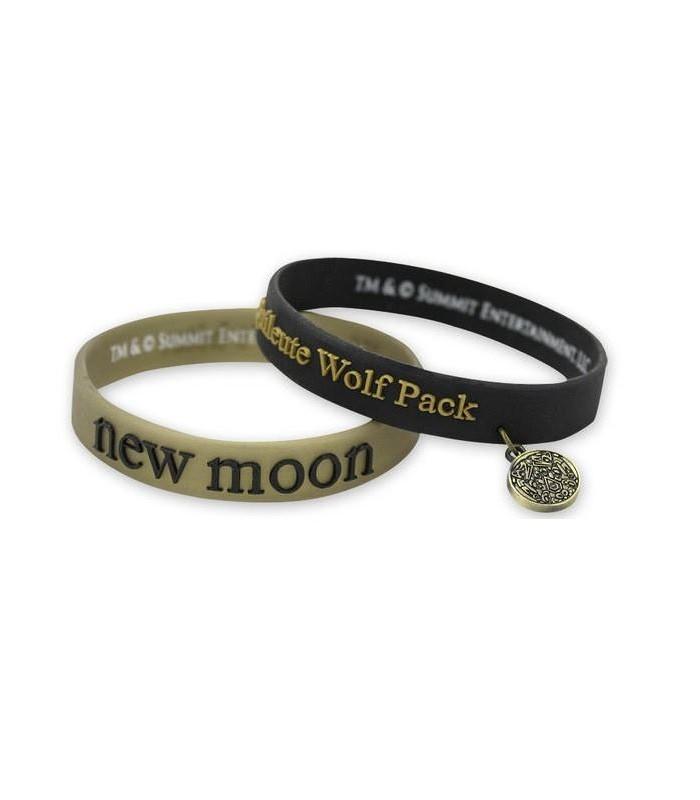 Pulseras Brazalete Silicona Wolf Pack Luna Nueva Crepúsculo