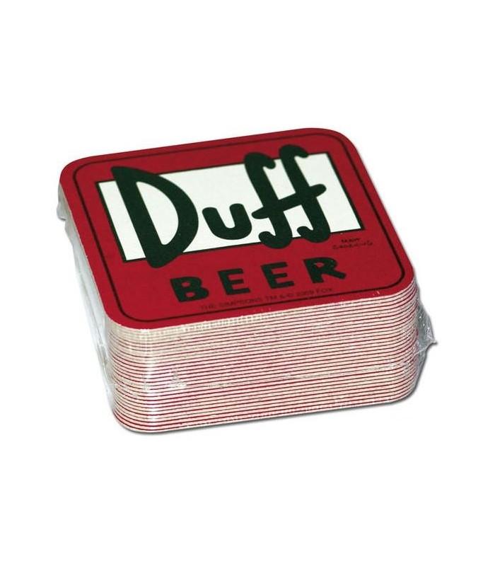 Posavasos Cerveza Duff Beer Los Simpsons