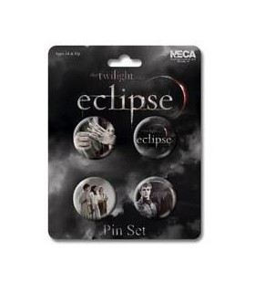 Chapas Eclipse Set de 4 Crepúsculo Twilight