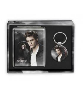 Pack Tarjetero Llavero Edward y Bella Eclipse Crepúsculo