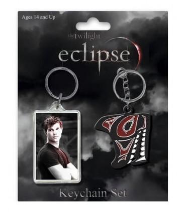 Pack Dos Llaveros Jacob Black Eclipse Crepúsculo Twilight