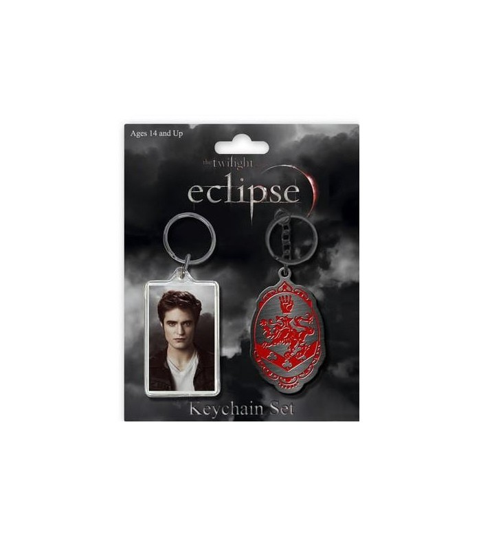 Pack Dos Llaveros Edward Cullen Eclipse Crepúsculo Twilight