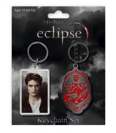 Pack Dos Llaveros Edward Cullen Eclipse Crepúsculo Twilight