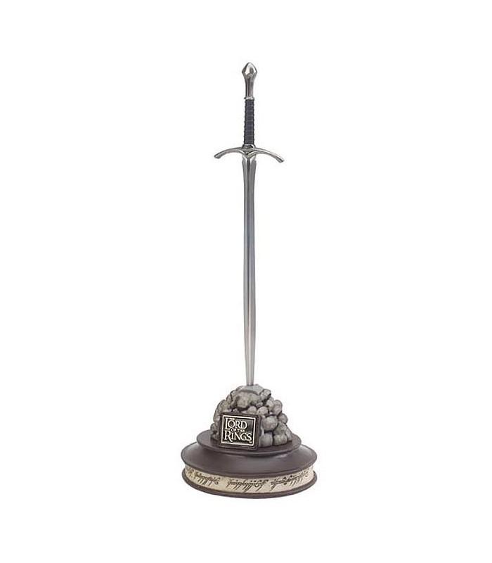 """Espada de Gandalf """"Glamdring"""", escala 1:5, CON expositor"""