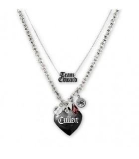 Colgante Doble Cadena Edward Cullen Eclipse Crepúsculo Twilight