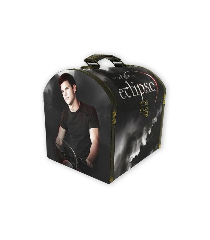 Mini Baúl Vintage Jacob Black Eclipse Crepúsculo Twilight