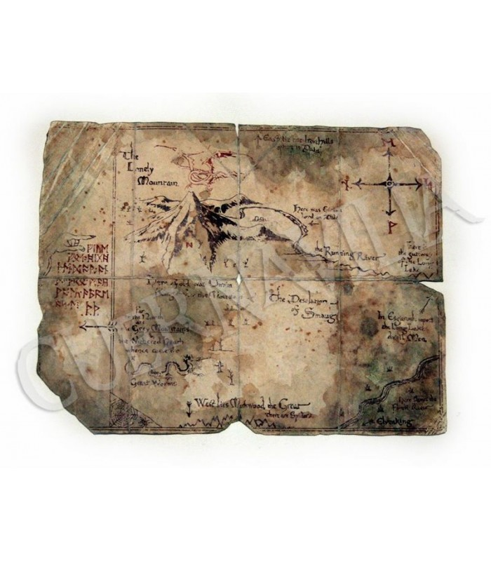 Mapa de Thror (de El Hobbit)