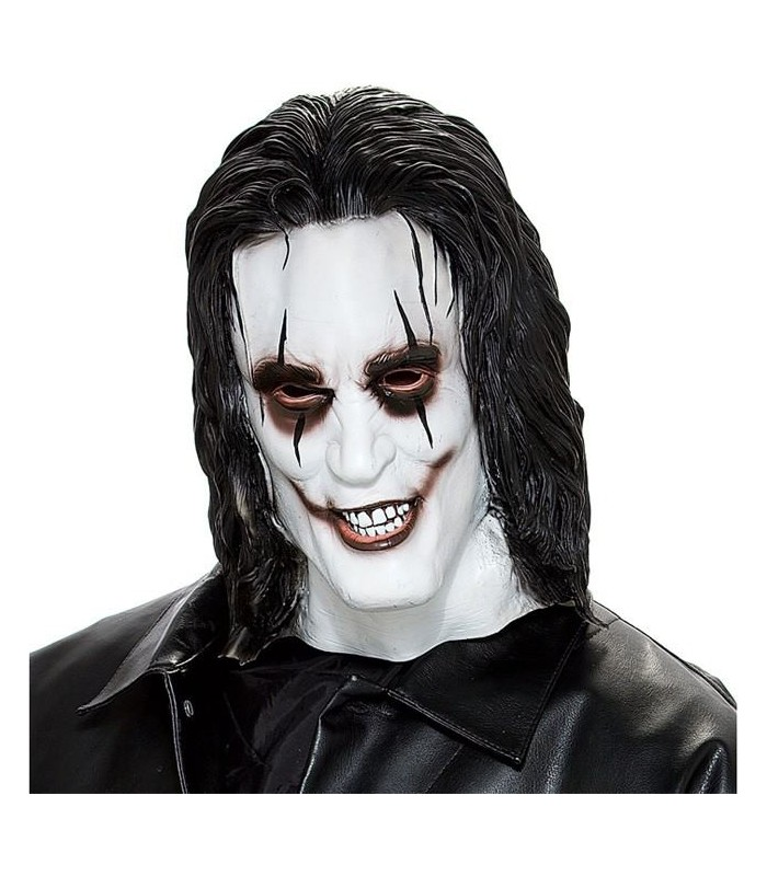 Máscara Latex El Cuervo Brandon Lee The Crow