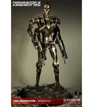Terminator T-800 Endoskeleton 2.0 Estatua 1:1 Tamaño Real