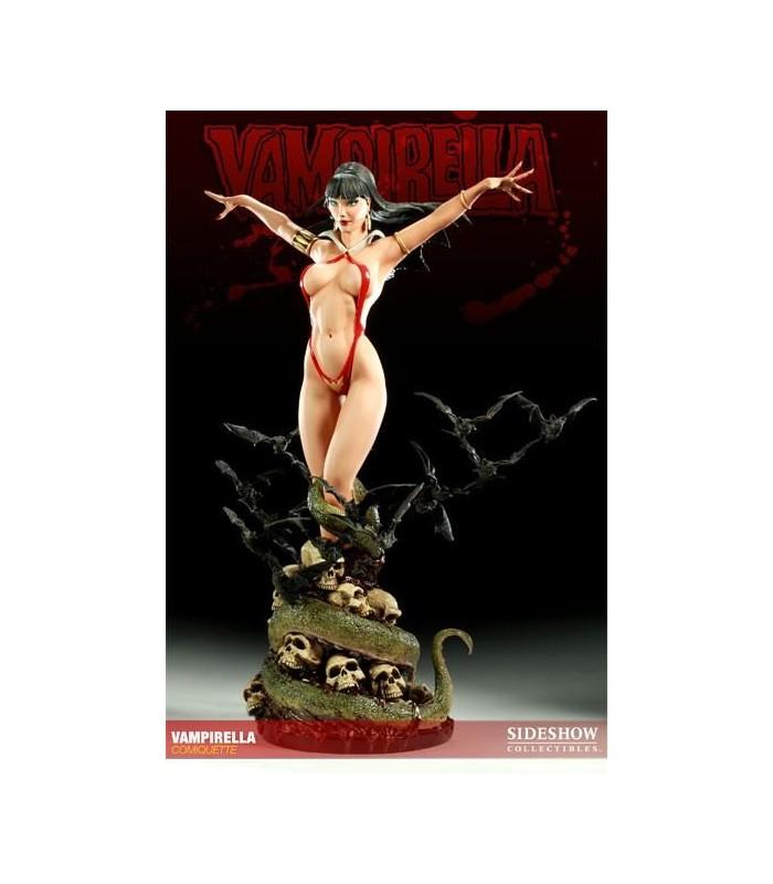 Figura Vampirella Comiquette Sideshow Collectibles E. Limitada