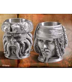 Vasos de Estaño Copas Jack Sparrow Davy Jones Piratas del Caribe