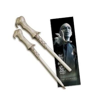 Set Punto de Libro y Bolígrafo Lord Voldemort Harry Potter