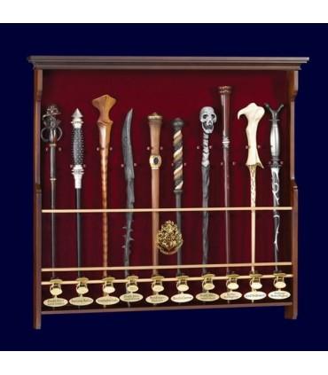 Expositor de Pared para 10 Varitas Mágicas Harry Potter