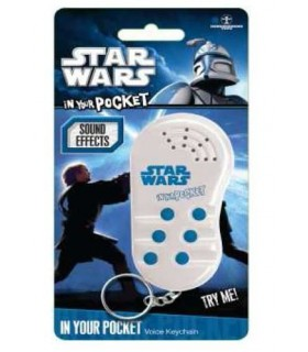 Llavero Reproductor 6 Sonidos Star Wars In Your Pocket