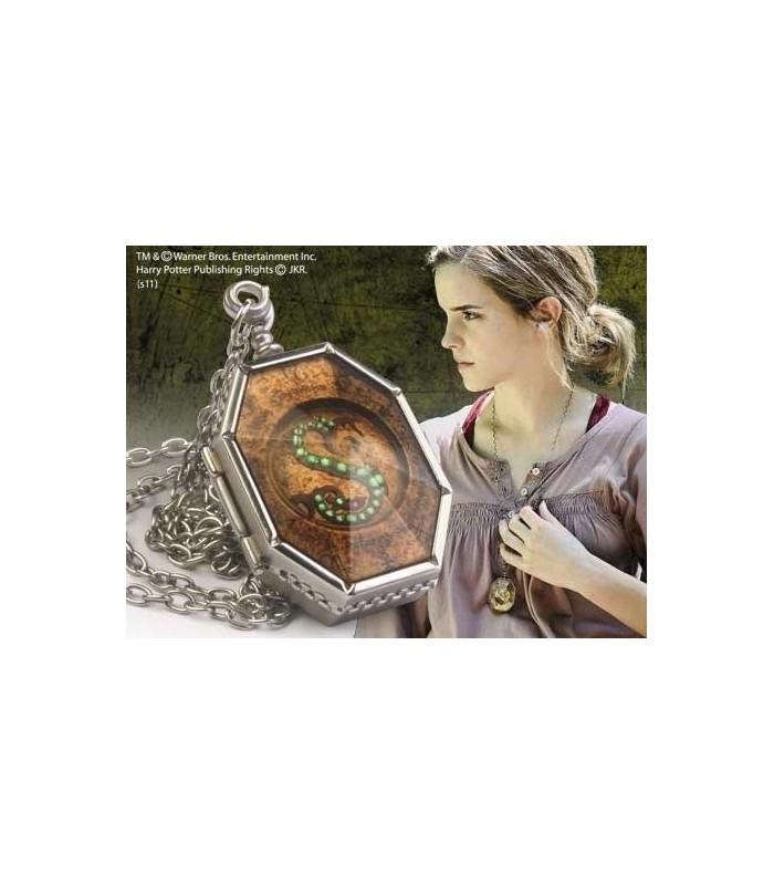 Medallón Horcrux Salazar Slytherin Hermione Harry Potter