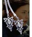 Colgante Doble de Arwen Estrella del Atardecer