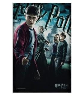 Lienzo Póster Oficial de Harry Potter y el Príncipe Mestizo
