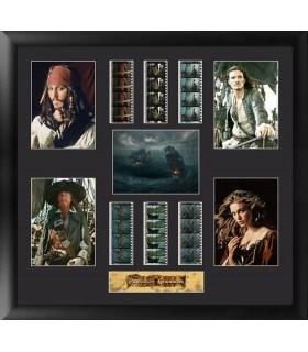 """Fotogramas 35mm """"Deluxe"""" Enmarcados Piratas del Caribe"""