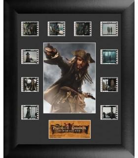 """Fotogramas 35mm """"Jack Sparrow II"""" Enmarcados Piratas del Caribe"""
