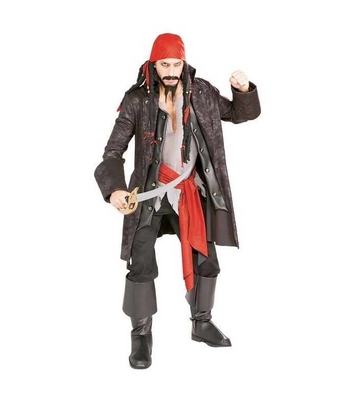 Disfraz Pirata Capitán Cutthroat Estilo Capitan Jack Sparrow