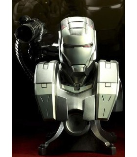 Busto Iron Man 2 War Machine 62 cms Sideshow con Luz