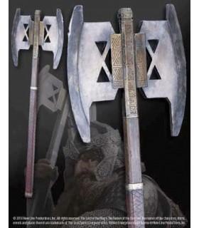 Hacha de Batalla de Gimli, escala 1:1 - The Noble Collection