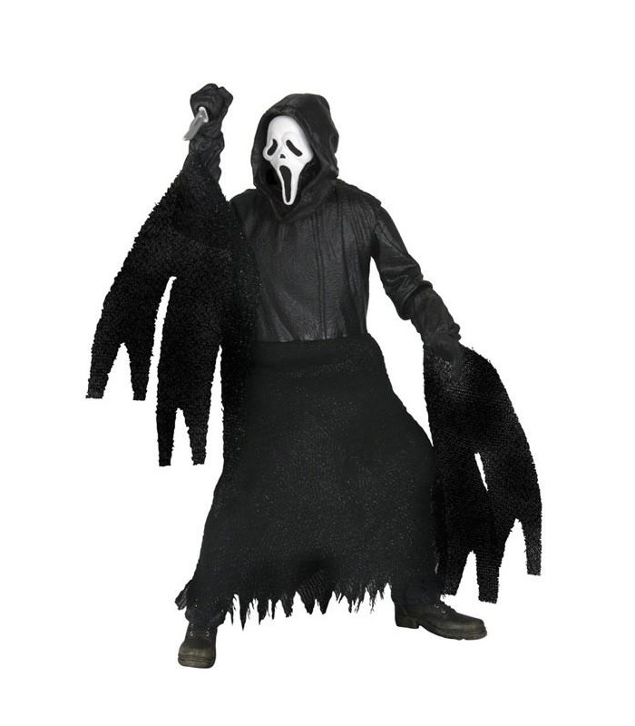 Figura Ghostface Máscara Clásica 18 cms Scream IV