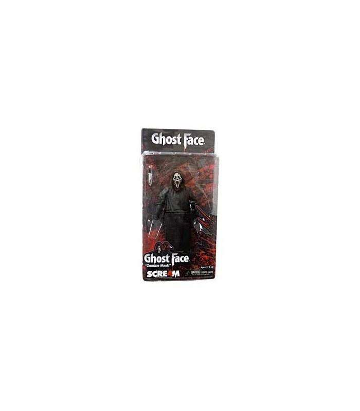 Figura Ghostface Máscara Zombie 18 cms Scream IV