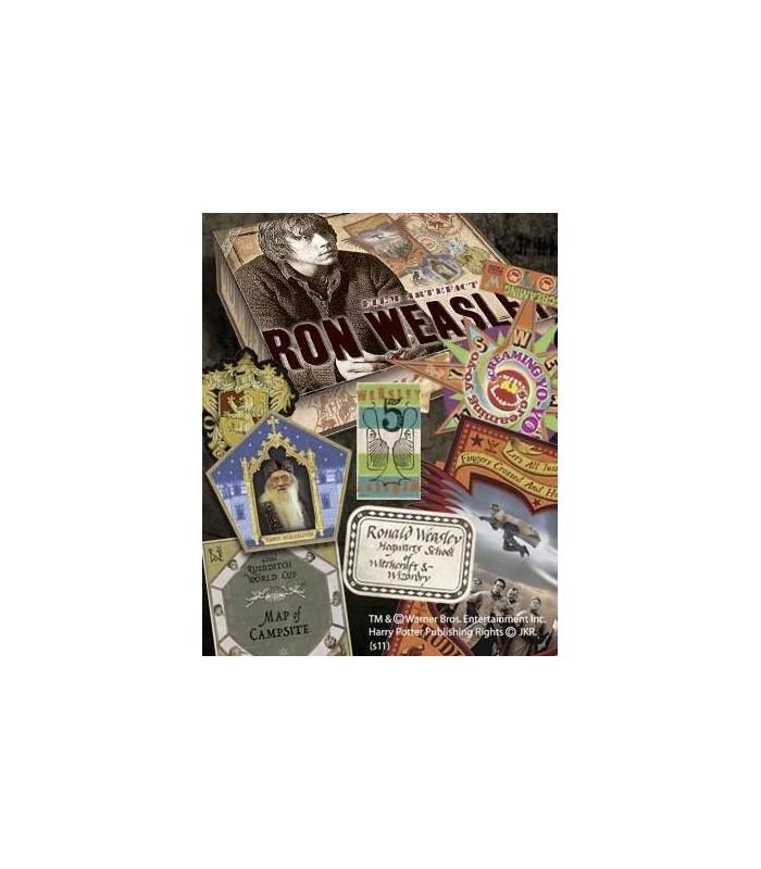 Caja de Recuerdos y Efectos Personales de Ron Weasley