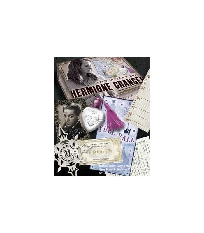 Caja de Recuerdos y Efectos Personales de Hermione Granger